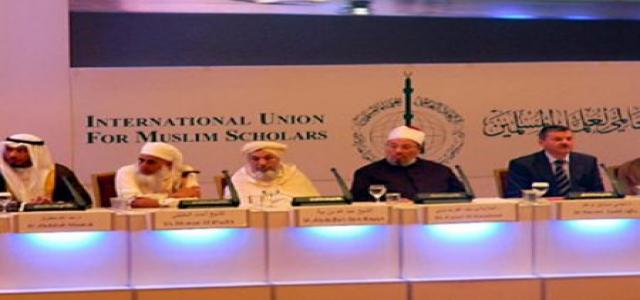 International Union for Muslim Scholars: Stop Assad, Hezbollah Massacres Against Syrians