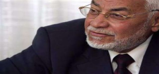 Muslim Brotherhood Movement Chairman Mr Mohamed Mahdi Akef criticizes the shunning of the movement.