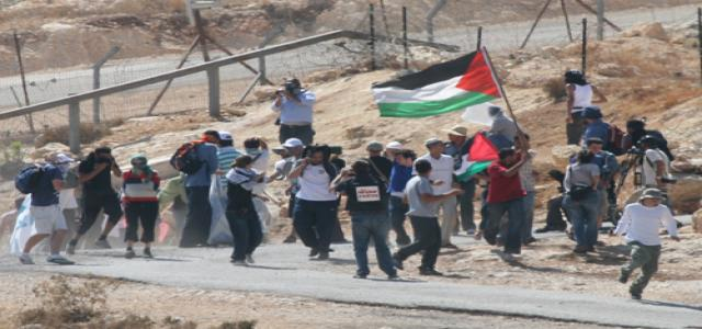 Dozens hurt in Bilin weekly anti wall march