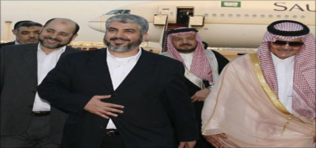 Mishaal: Faisal understood Hamas position towards the reconciliation paper