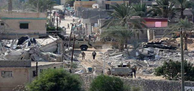 Rights Report: Egypt Army Achievements in Sinai – Thousands Killed, Maimed, Arrested